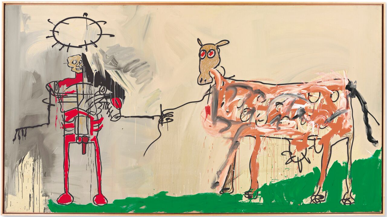 Jean-Michel Basquiat The Field Next to the Other Road, 1981 Mugrabi Collection MUDEC Milano