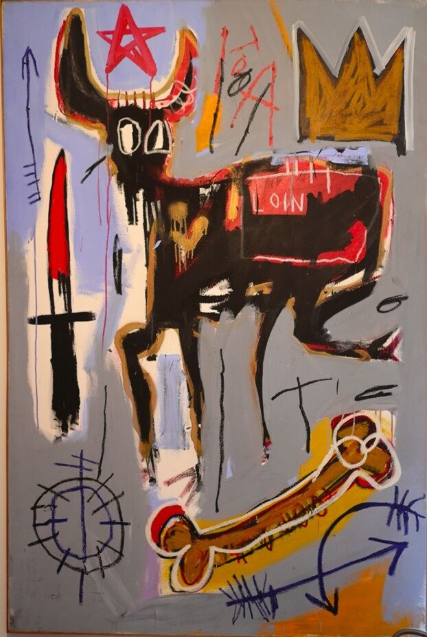 Jean-Michel Basquiat Loin, 1982 MUDEC Milano Mugrabi Collection