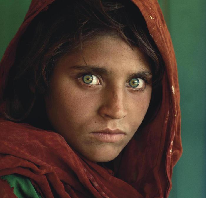 Steve McCurry, Ragazza Afgana