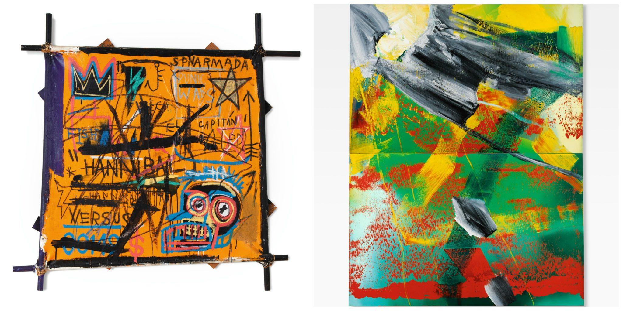 71,3 milioni£ da Sotheby's a Londra. Richter e Basquiat volano