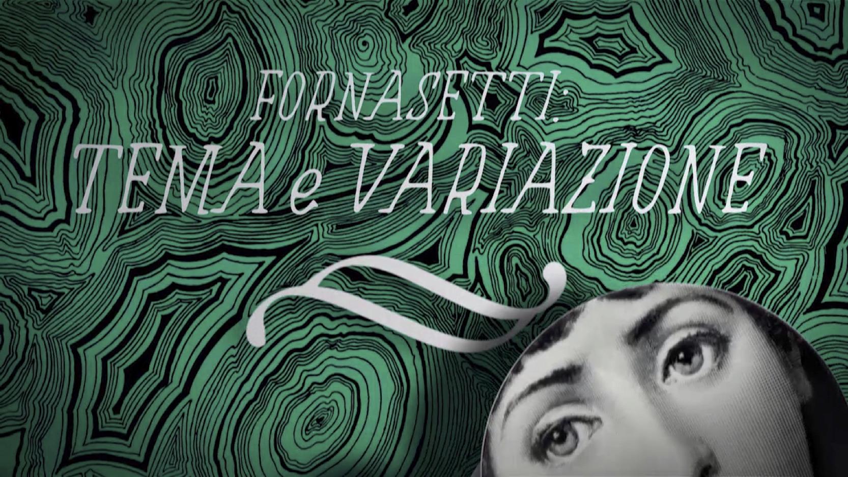 Il genio di Fornasetti al Milano Design Film Festival