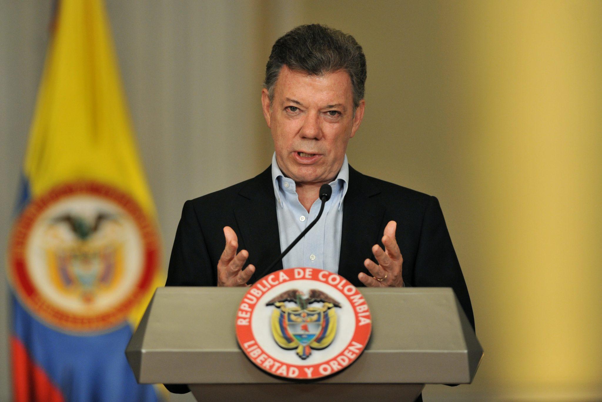 Premio Nobel per la Pace 2016 al presidente colombiano Santos