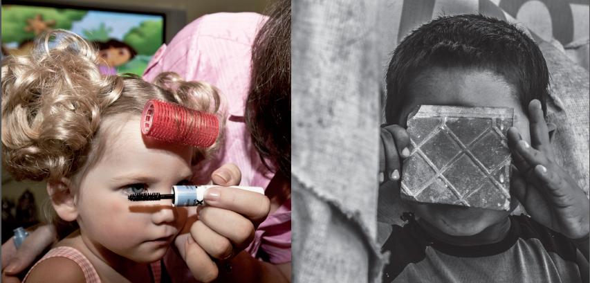 L'infanzia negata in mostra a Torre Pellice: opposti non complementari