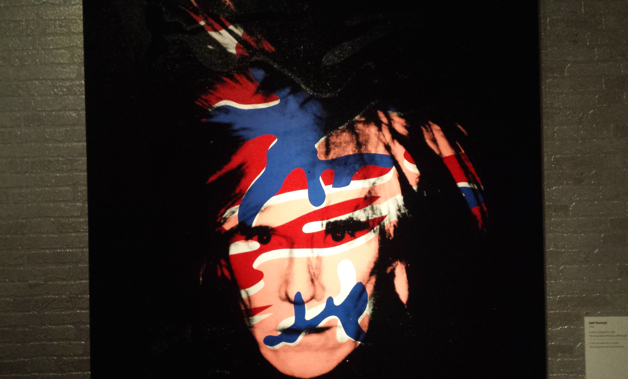 Andy Warhol, Autoritratto, 1986 (Foto Luca Zuccala)