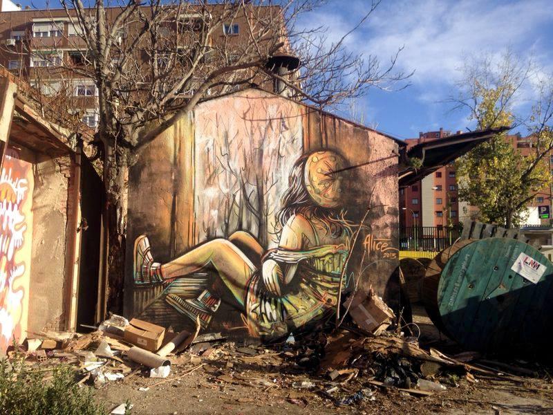 Alice Pasquini. La street artist italiana che incanta il mondo
