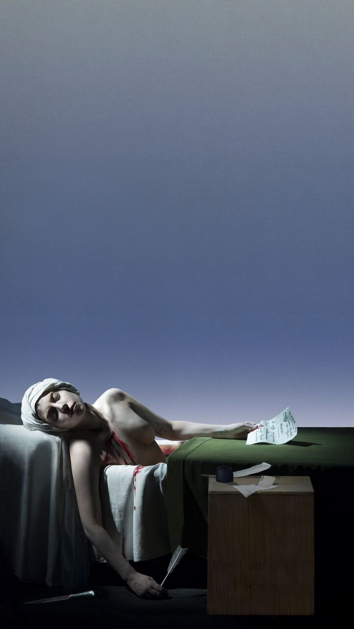Robert Wilson, Lady Gaga, The death of Marat 2013 Villa Panza Tales
