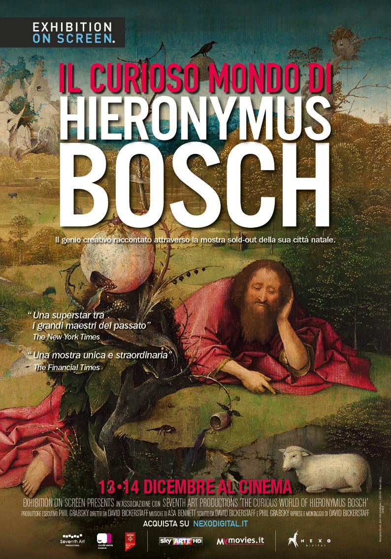 Il curioso mondo di Hieronymus Bosch, 13 e 14 dicembre al cinema