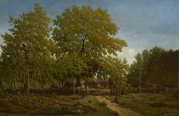 Quando Théodore Rousseau innovò la pittura di paesaggio. Grande mostra a Copenaghen