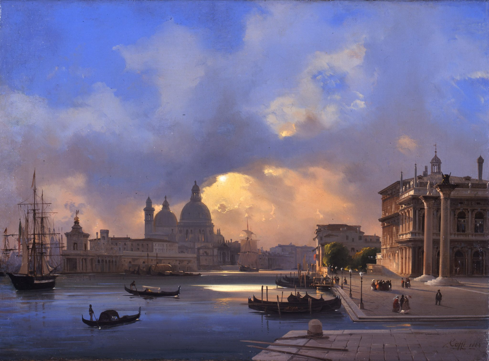 Ippolito Caffi, Venezia, Museo Correr