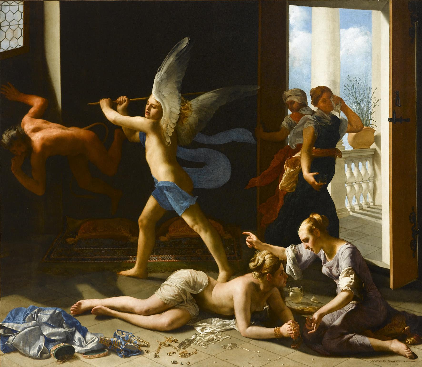 La conversione della Maddalena - Guido Cagnacci