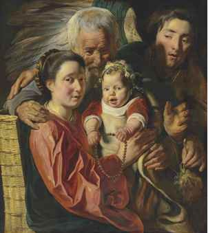 Jacob Jordaens top lot per i dipinti antichi da Christie's