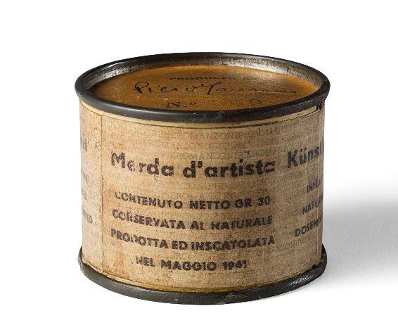 Record per una Merda d'Artista di Piero Manzoni da Il Ponte
