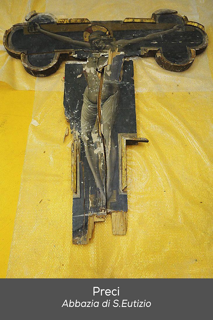 Nicola di Ulisse da Siena Crocefisso Sant Eutizio