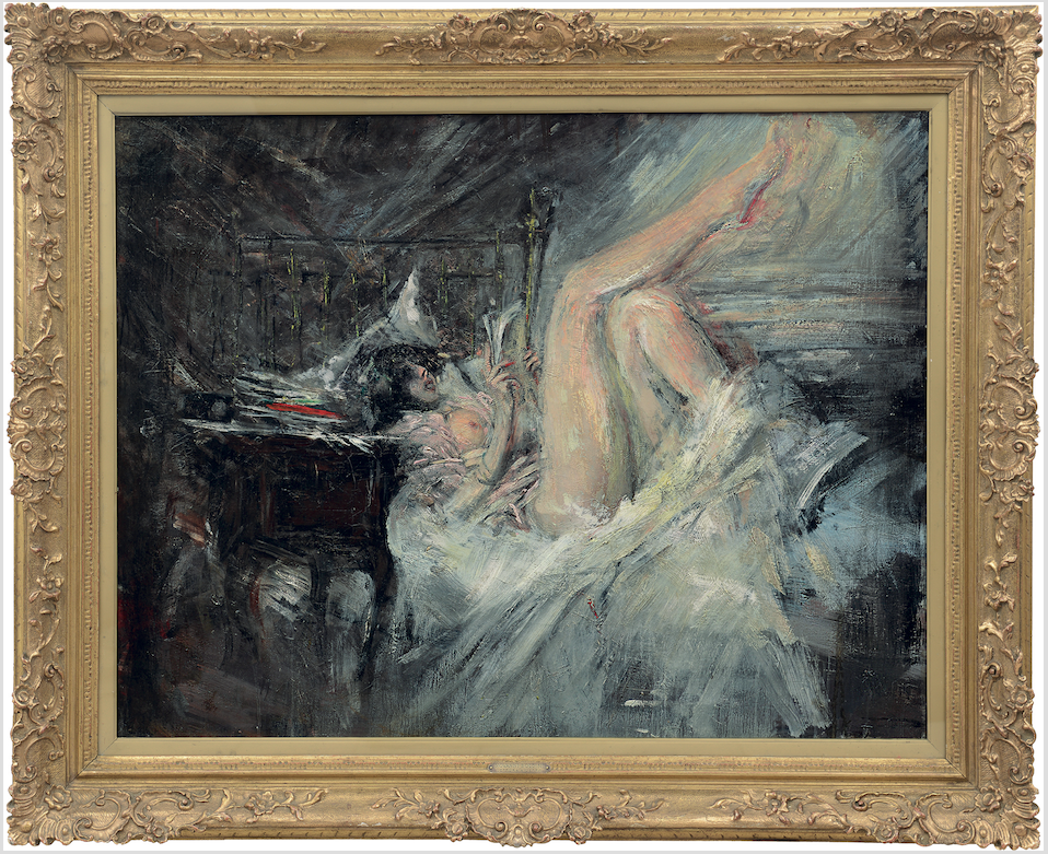 Un dipinto di Boldini all'asta da Meeting Art