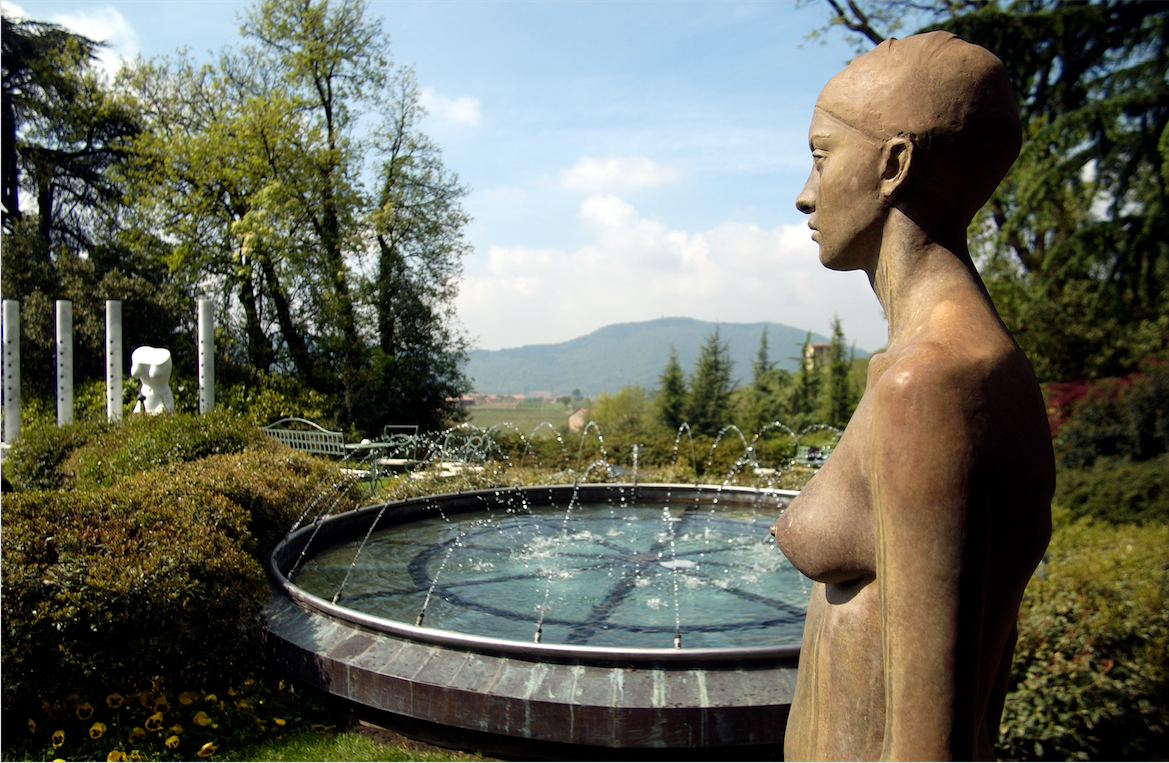 Il museo en plein air de L'Albereta Relais & Chateaux