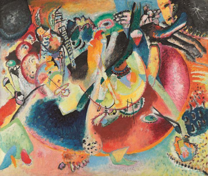 Vasilij Kandinskij Improvvisazione sulle forme fredde, 1914 Olio su tela, cm 119 x 139 Mosca, Galleria Tret'jakov © State Tretyakov Gallery, Moscow, Russia