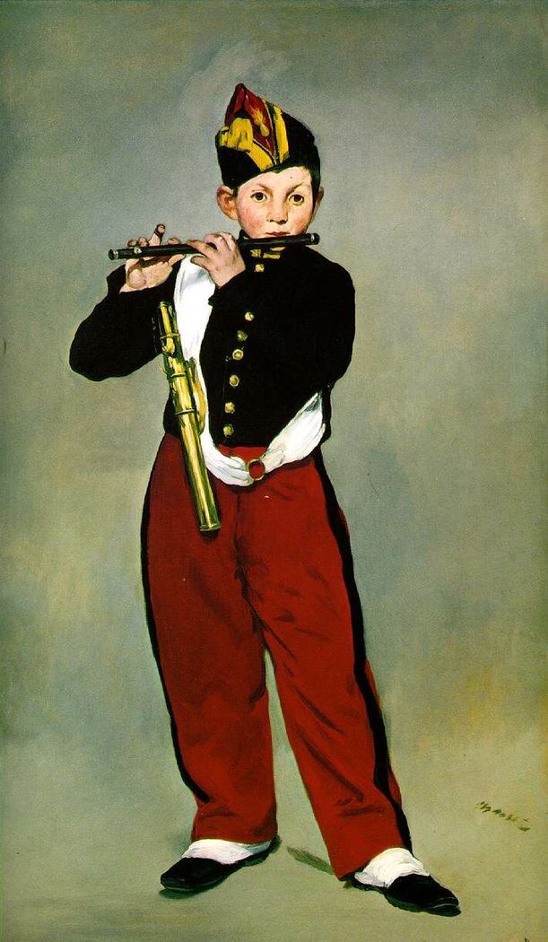 Manet, Il Pifferaio