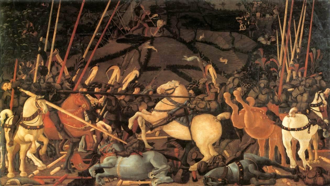 Paolo Uccello, Battaglia di San Romano, 1440
