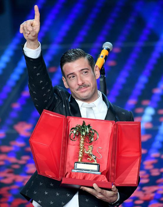 Sanremo Music Festival 2017 rancesco Gabbani