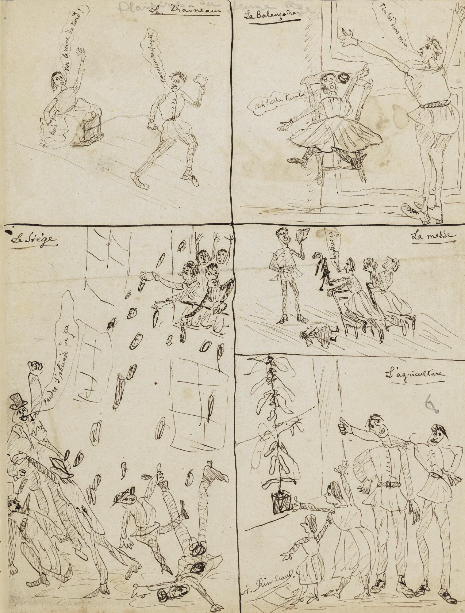 I disegni di Arthur Rimbaud acquisiti dal Musée Rimbaud