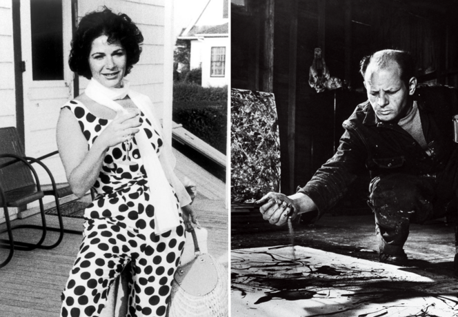 "Jackson Pollock e Ruth Kligman, ""La sua anima è nel mio corpo"""