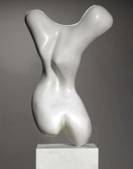 """La delicata sensualità di Arp in asta da Sotheby's. """"Torse"""" stima oltre 2,5 milioni£"""