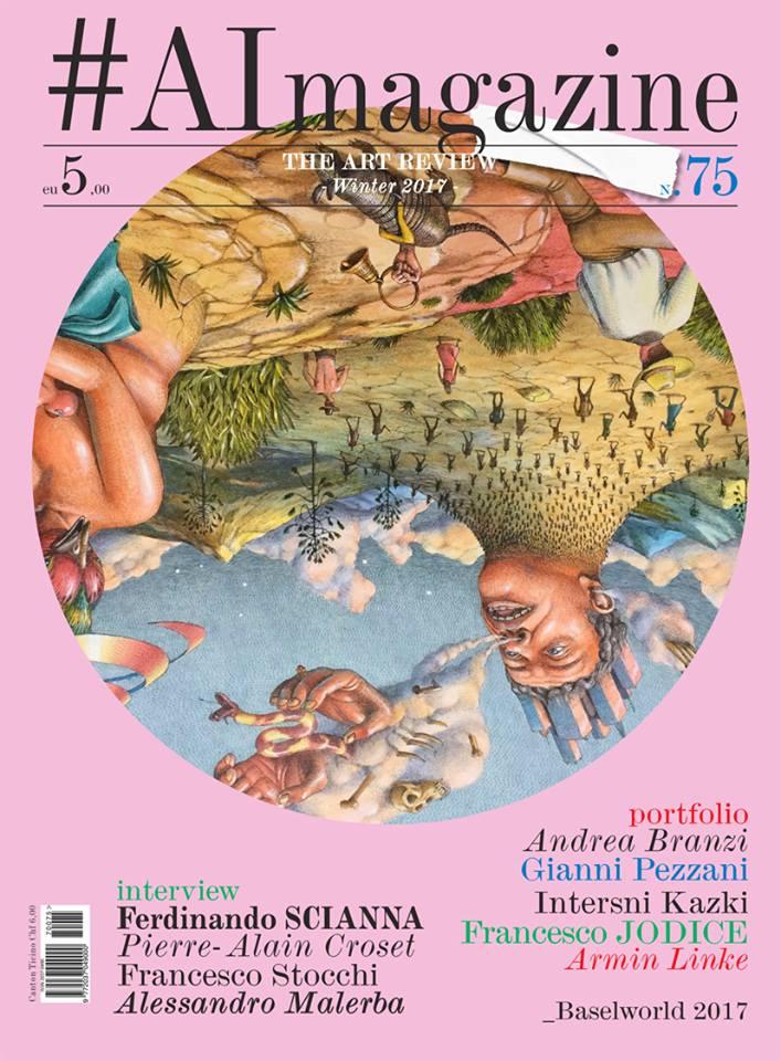 Presentazione della rivista d'arte #AImagazine a Milano