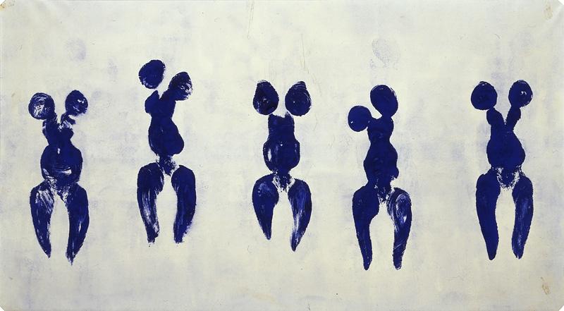 Yves Klein, Antropometrie TateShouts