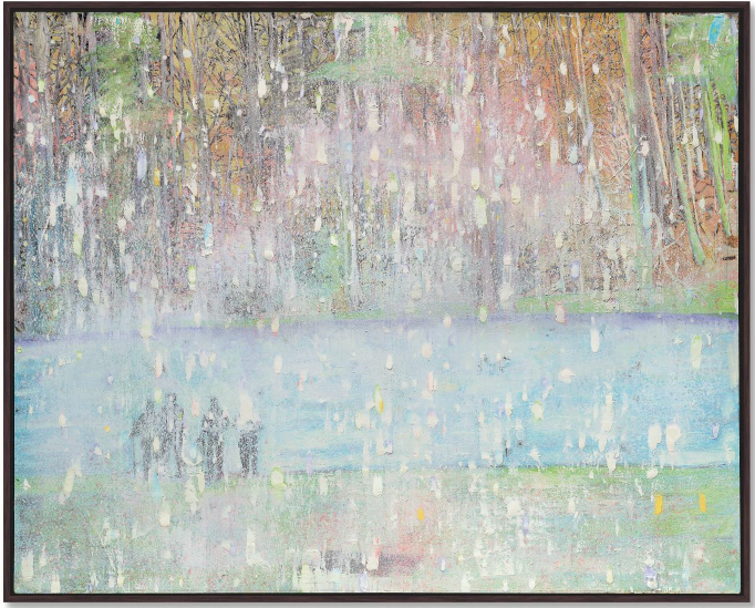 Peter Doig, Cobourg 3 + 1 More Christie's