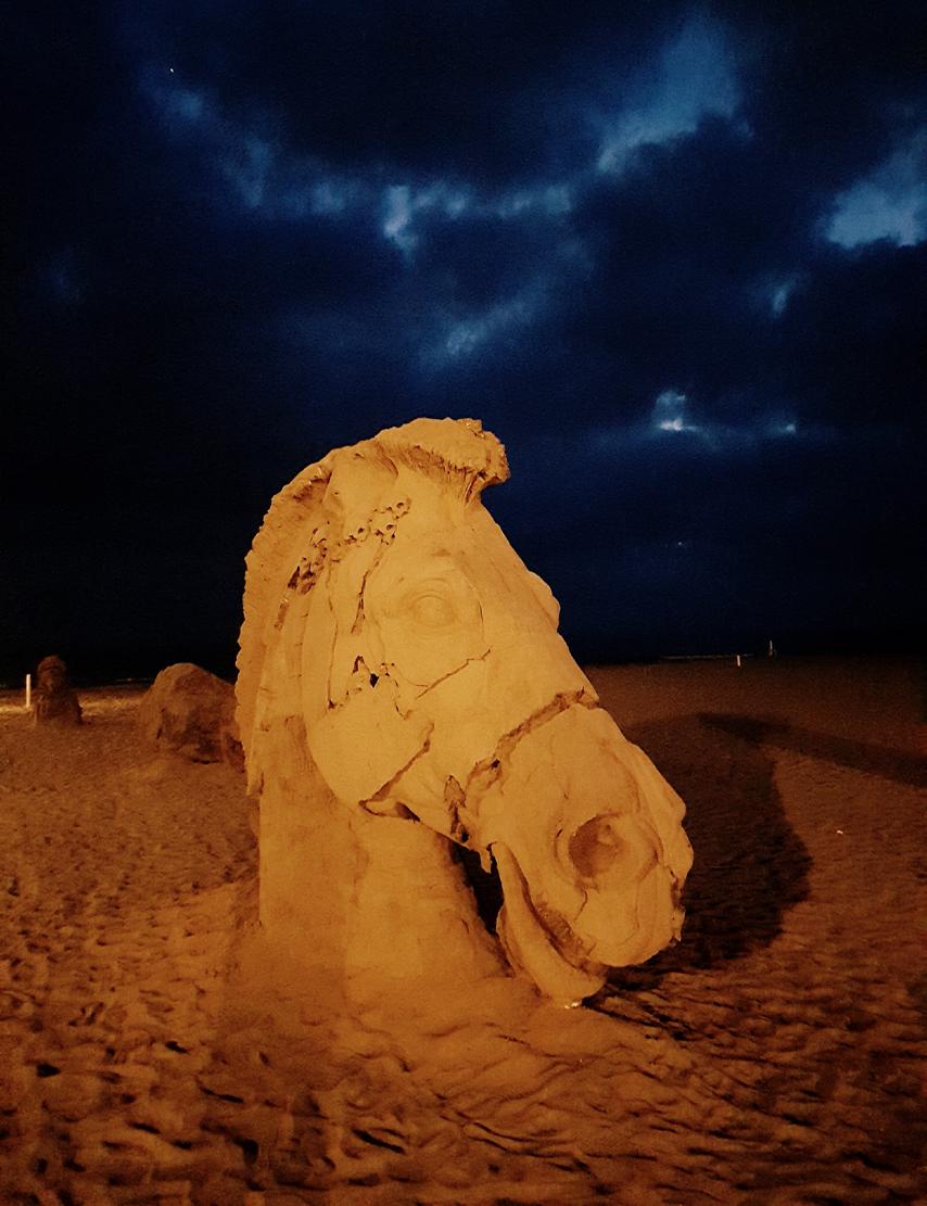 Forte dei Marmi a cielo aperto tra luce, materia, suono, colore. La scultura al centro