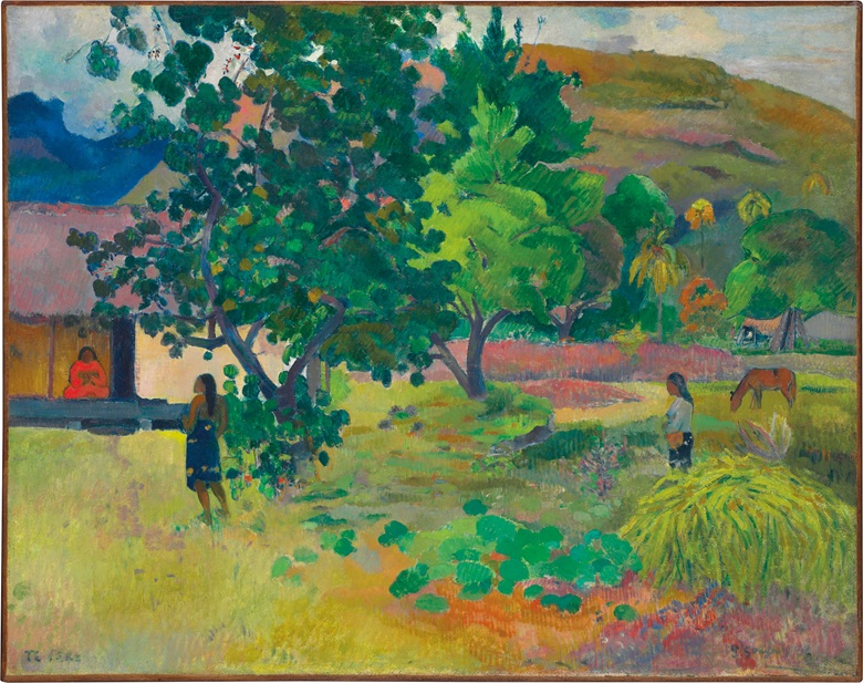 paul gauguin te fare la maison 1892 christie's