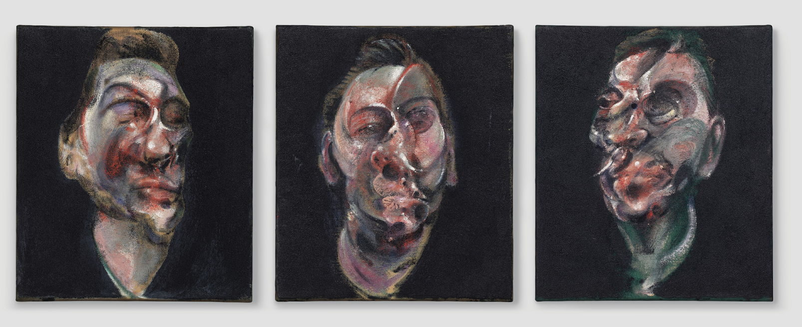 francis bacon Three Studies for a Portrait of George Dyer Christie's