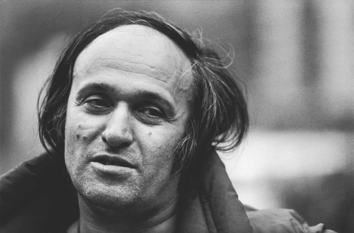 Uliano Lucas: Mario Schifano, Bologna, 1984