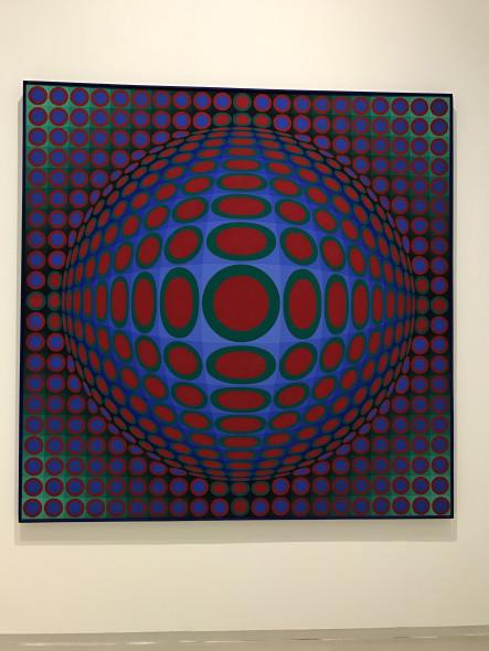 Victor Vasarely, Vega 222, 1969-1970 mostra GAM Torino l'emozione dei colori nell'arte