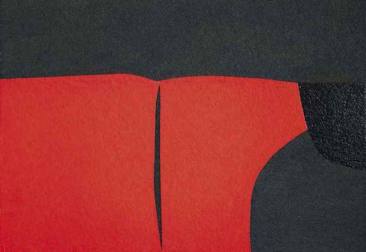 Alberto Burri Cellotex (1980) galleria tega