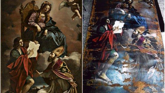 guercino-madonna-con-il-bambino-e-i-santi-giovanni-evangelista-e-gregorio-taumaturgo