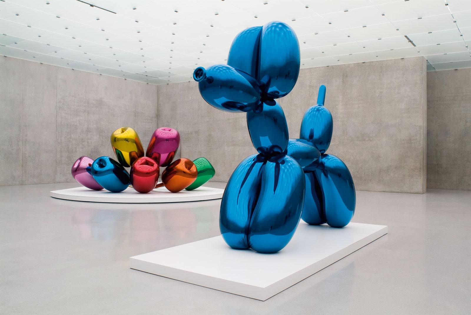 Jeff Koons brilla a Palazzo Strozzi: l'artista superstar arriva a Firenze