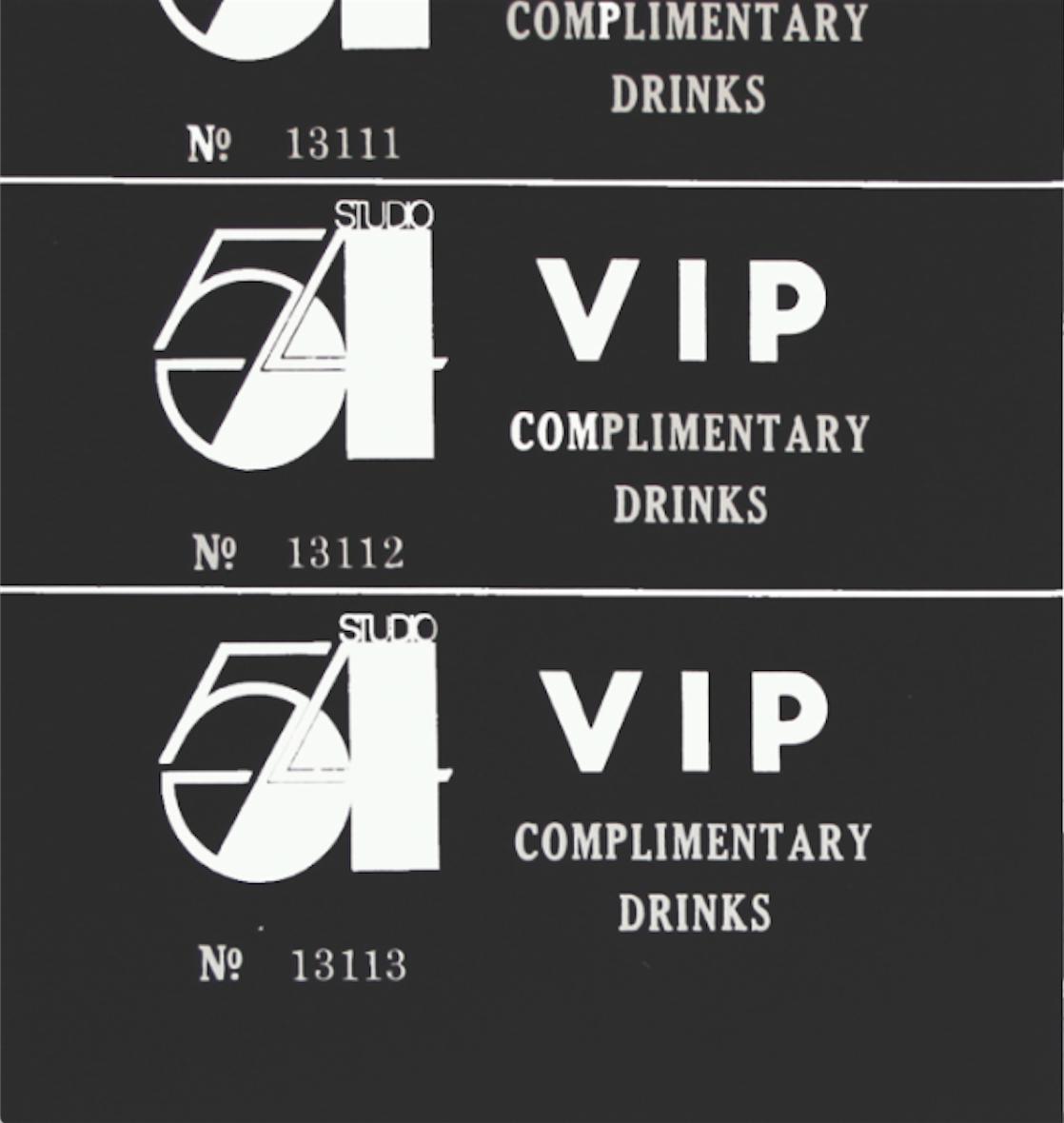 Studio 54, 1978, serigrafia su carta, 65x97 cm