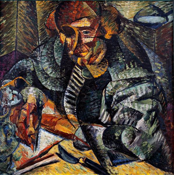 Boccioni, Antigrazioso 1912-13