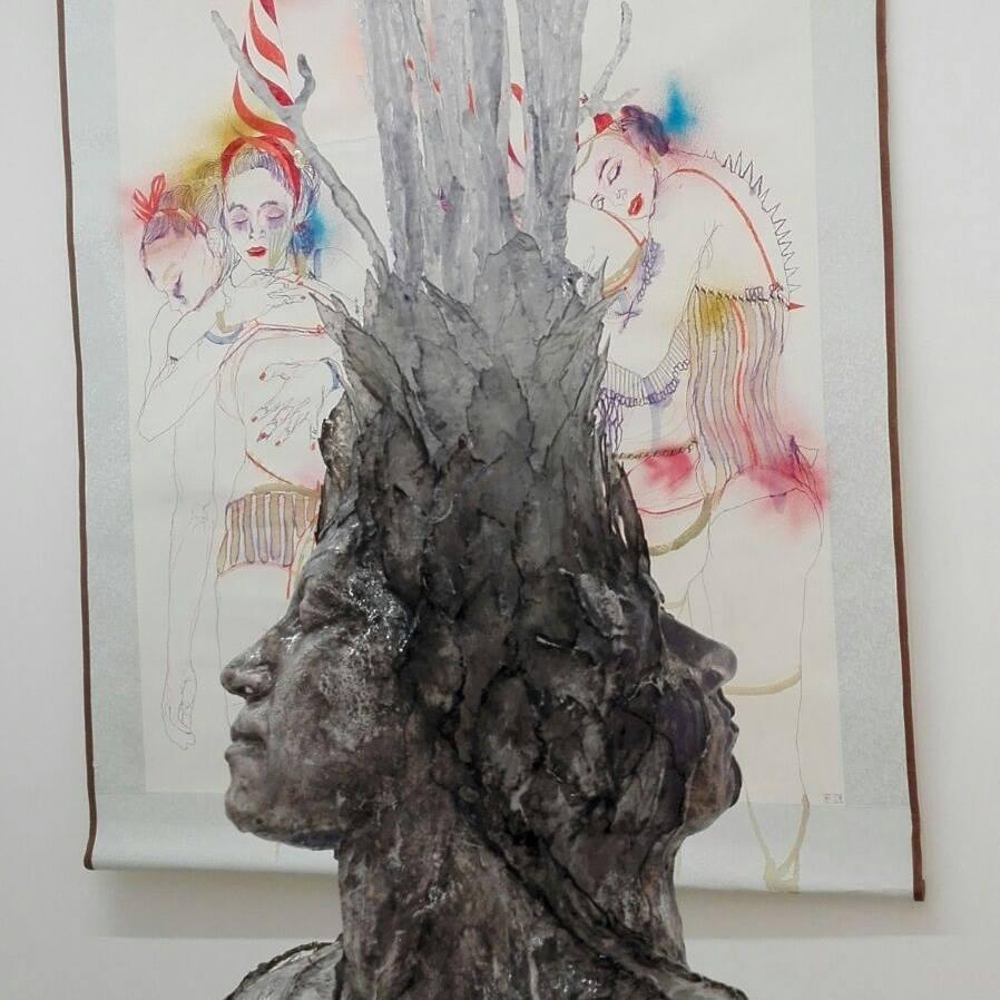 Artisti in dialogo per la prima mostra da Gilda Contemporary Art