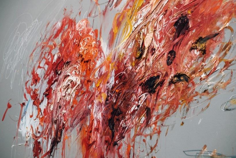 Cy Twombly, Centre Pompidou