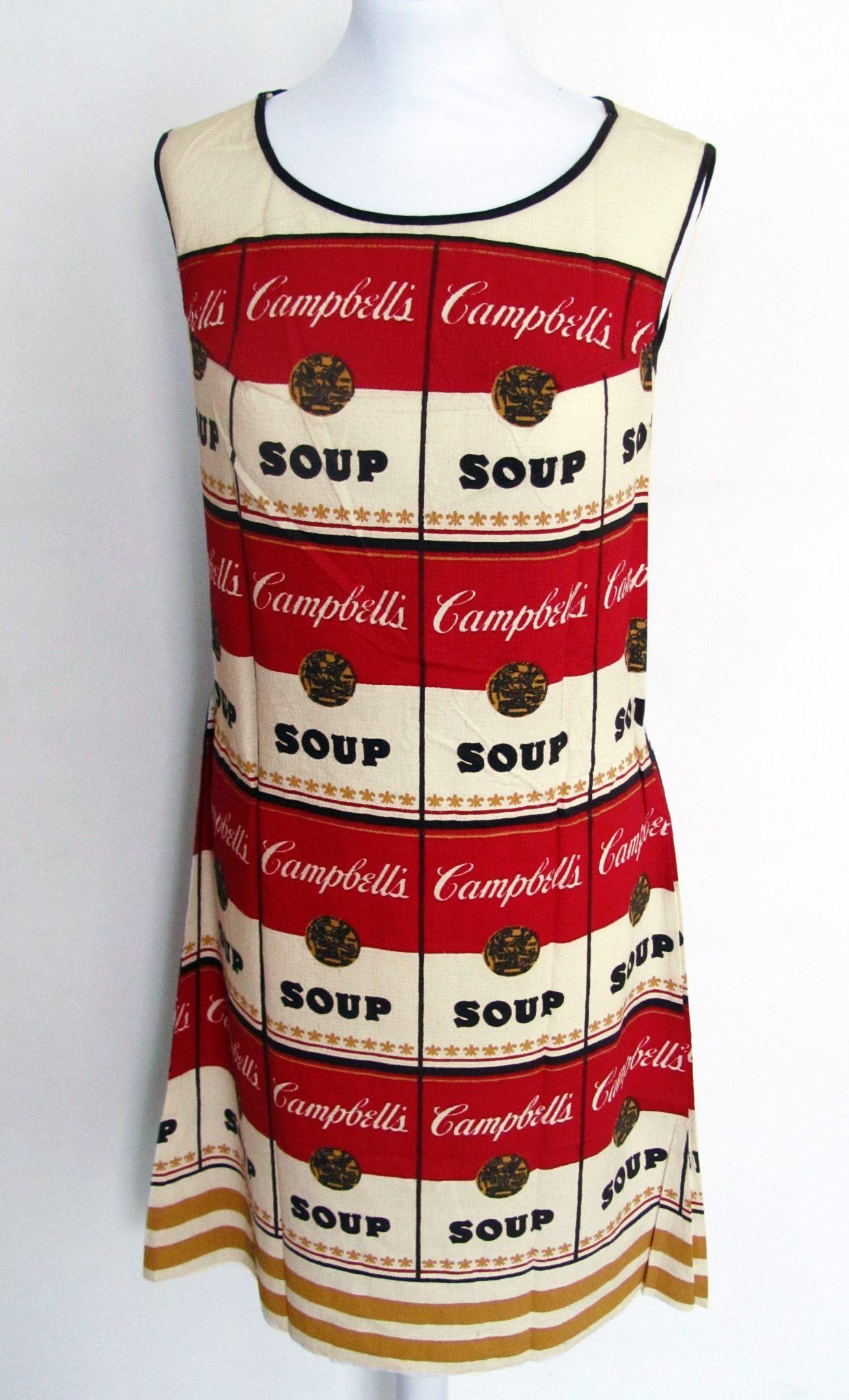 Andy Warhol, Campbells Soup Dress, 1968, Gallery Hotel Art Firenze