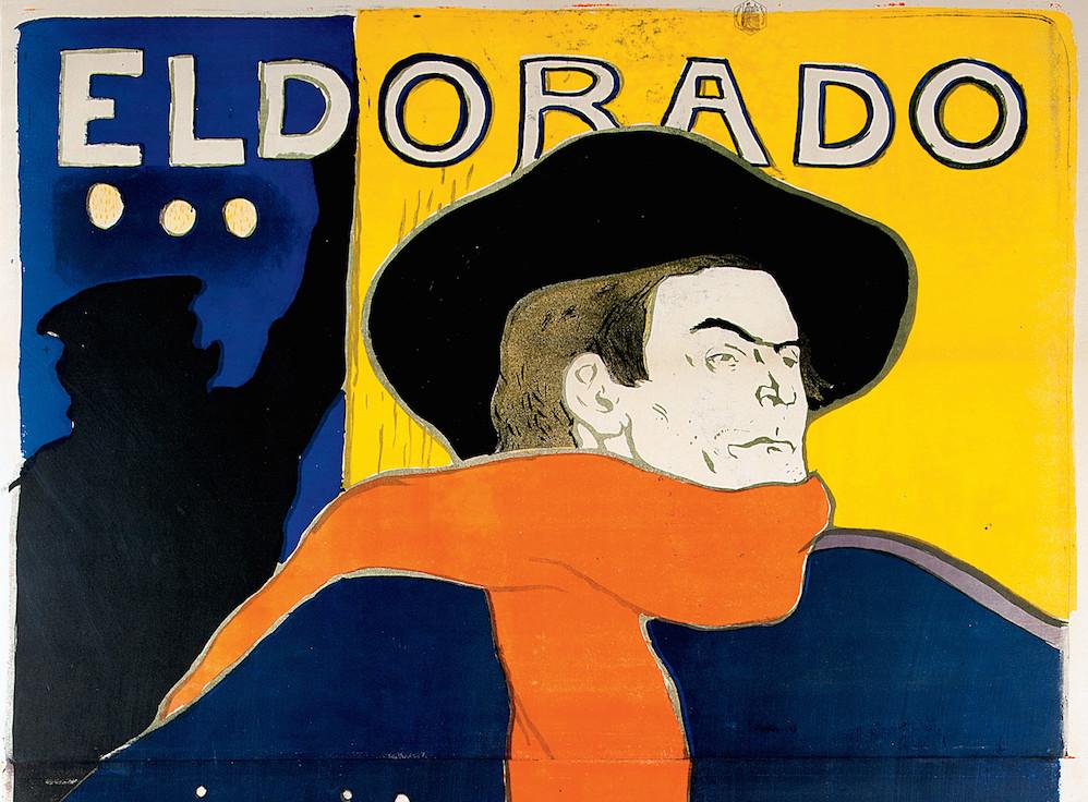 Henri de Toulouse-Lautrec Eldorado, A. Bruant dans son Cabaret 1892 mostra verona la belle époque AMO