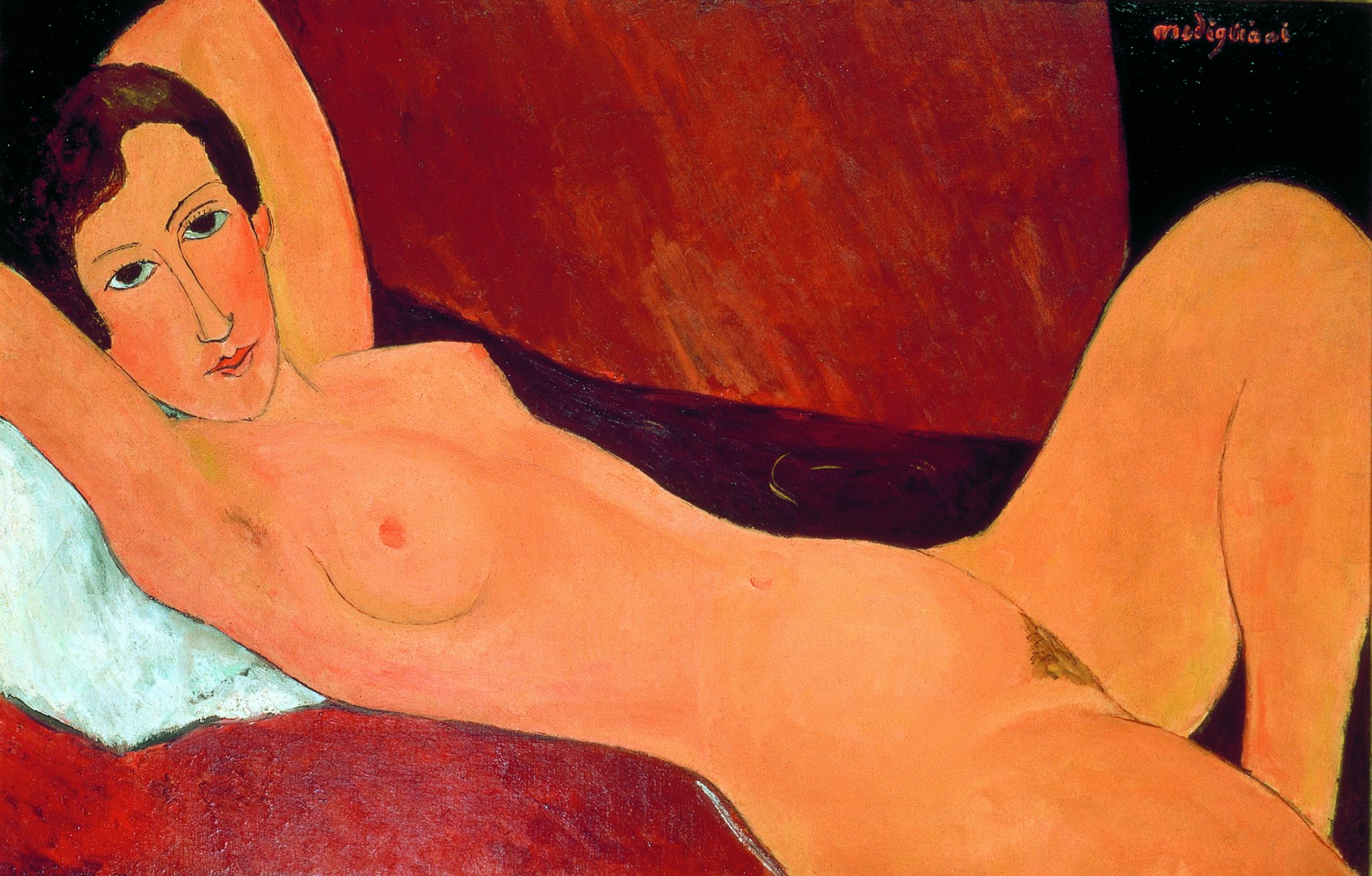 Amedeo Modigliani - Grande nudo disteso (Ritratto di Céline Howard) 1918