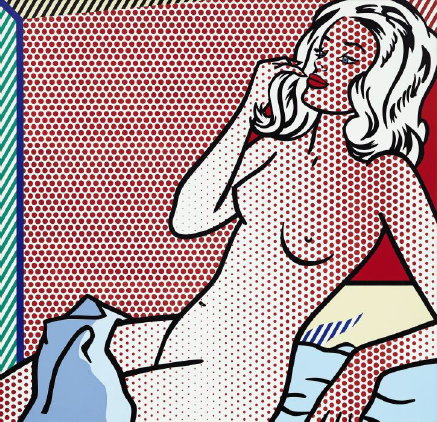 Roy Lichtenstein NUDE SUNBATHING 1995 Sotheby's New York