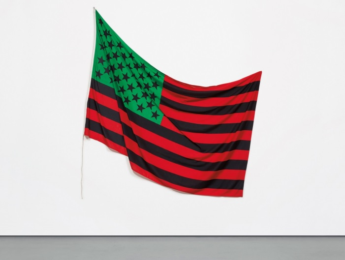 Hammons African American Flag 1990 Phillips