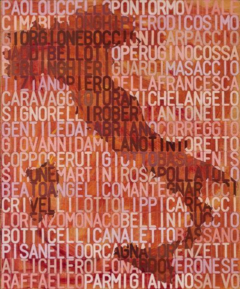 Salvo, 57 pittori italiani, 1975