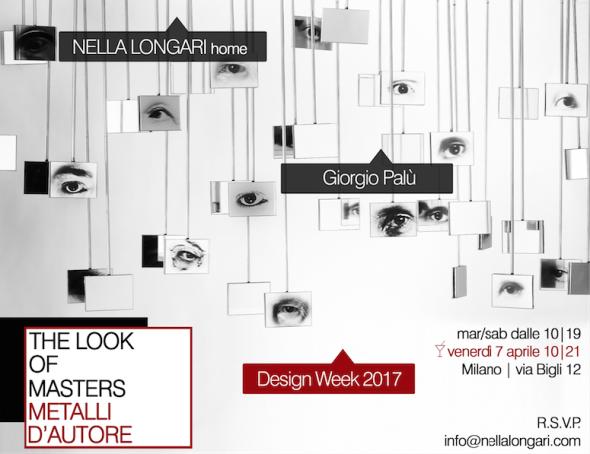 Giorgio Palù tra architettura, arte e Design. Da NELLA LONGARI Home a Milano