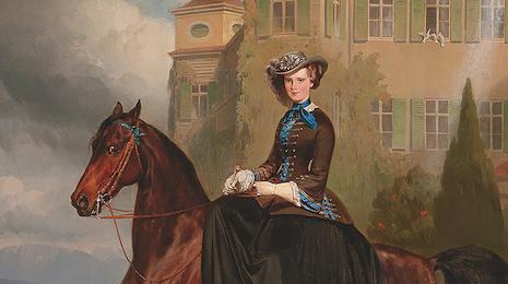Un ritratto di Sissi da Dorotheum. All'asta il regalo di fidanzamento per Franz