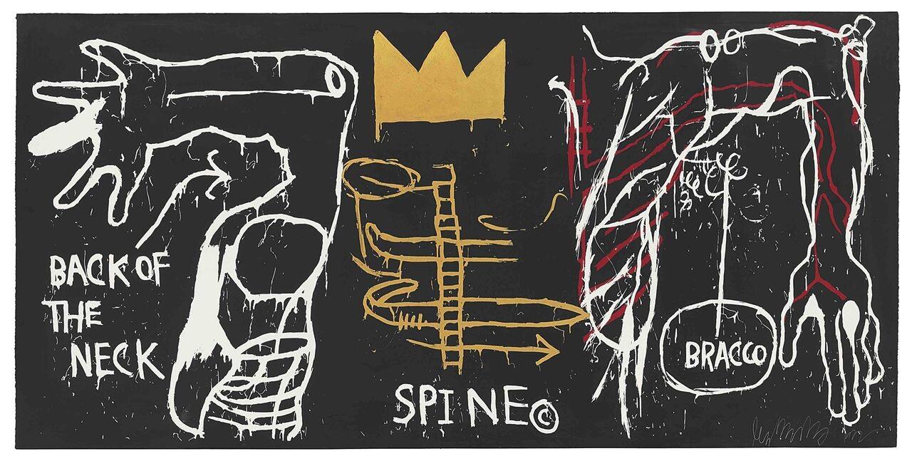 La New York City di Jean Michel Basquiat al Chiostro del Bramante